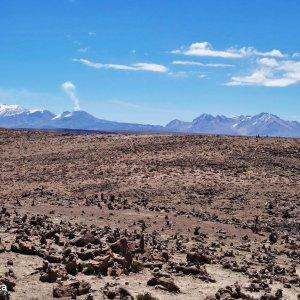 Sur la route du volcan Mismi