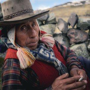 Homme Quechua - Trek de l'Ausangate