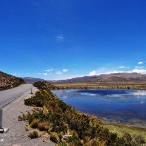 La route pour le Canyon de Colca