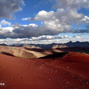 Montagnes colorées à l'Ausangate