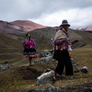 Population Quechua - Trek de l'Ausangate