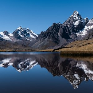 Ausangate mountain reflection