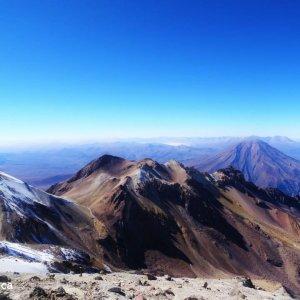 Vue du sommet du Chachani